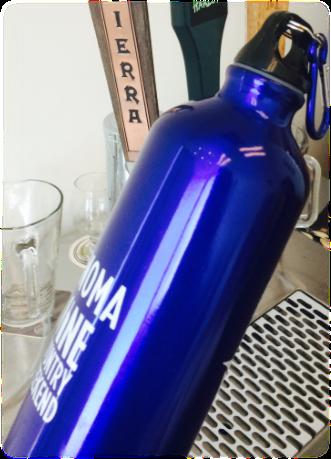 CCBA water bottle