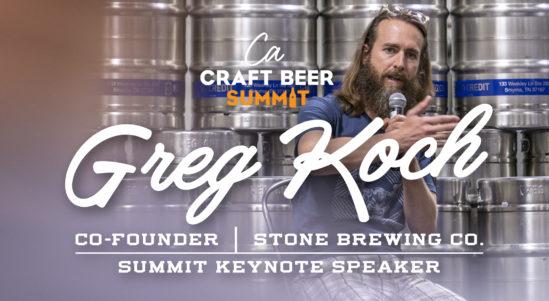 Greg Koch of Stone Brewing Announced as CA Craft Beer Summit Keynote Speaker