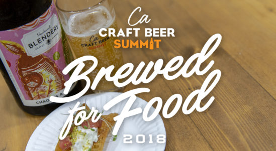 "Food and Beer Pairings, ""Brewed for Food"" Highlights, Chef Demos, Beer Dinners and More!"