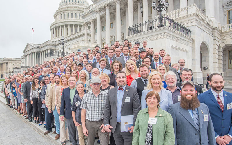 California Craft Brewers Visit the US State Capitol!