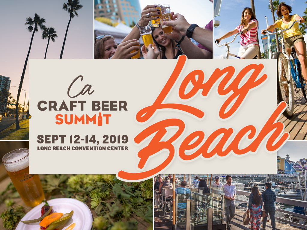 Fifth Annual California Craft Beer Summit On-the-Road in 2019