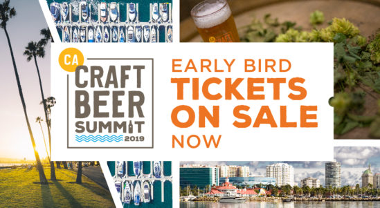 Early Bird Tickets Now on Sale For the Fifth Annual California Craft Beer Summit