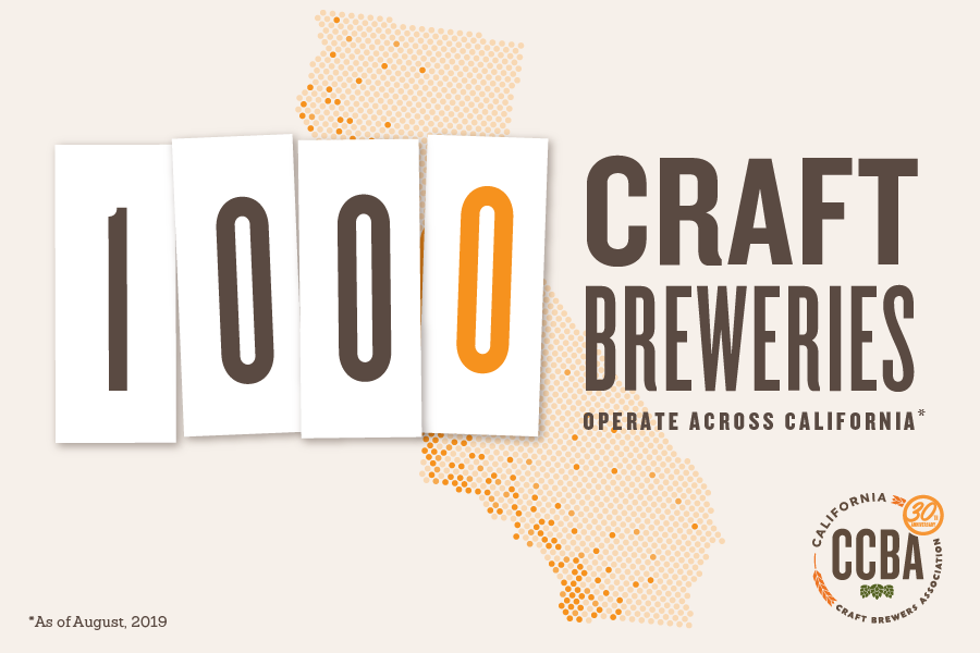 Craft Breweries Now 1,000 Strong in Golden State, Celebrate Small Business Success at California Craft Beer Summit